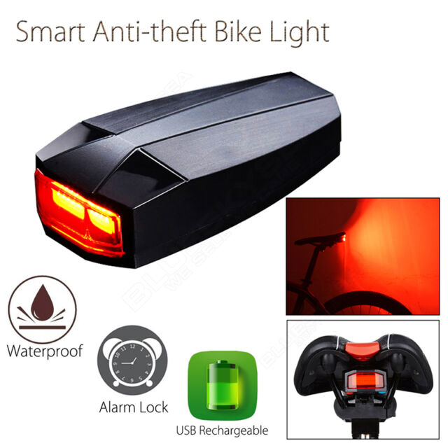 ANTUSI A3 Smart Anti-theft Bike Rear Light Wireless 3in1 Waterproof COB Light