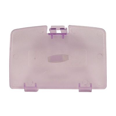 (New ATOMIC PURPLE Battery Cover for Game Boy Color System - GBC Replacement Door)