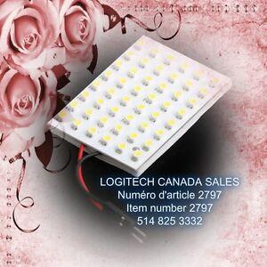 48 LED 1210 3528 SMD Car Interior Light Panel Bulb Dome T10 BA9S