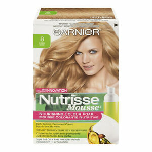 TWO BRAND NEW GARNIER  Nutrisse Mousse Blonde Color For SALE