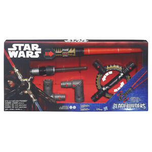Star Wars BladeBuilders Spin-Action Lightsaber By Hasbro