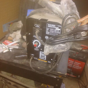 powerfist 100$ never used flux-cored  wire feed welder