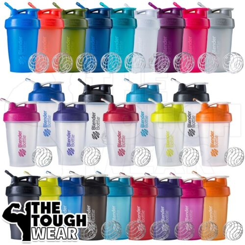 Blender Bottle Classic 20oz Shaker Cup SportMixer With Loop