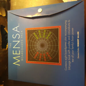 The Mensa Boardgames Pack