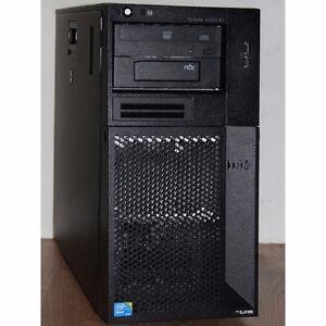 IBM System X3200 M3 Server Xeon 4Cores 2.4GHz 10GB RAM 2TB HDD