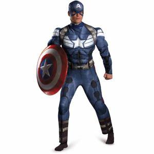 Men Delux Marvel capitan america M 38-40 costume