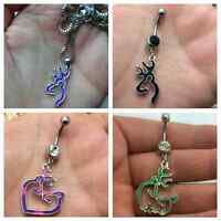 Browning ~ belly button rings and necklaces!