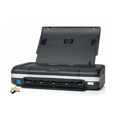 Stampante inkjet a colori portatile Hp Officejet H470 con batteria - rigenerata
