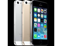 APPLE IPHONE 5S 32GB UNLOCKED MINT CONDITION COMES WITH WARRANTY & RECEIPT