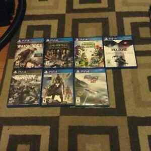 PS four games