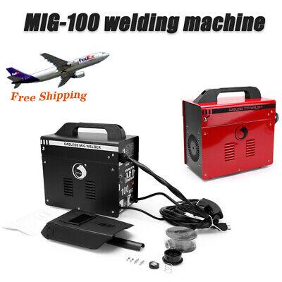 Mig-100mig-130 Welder Thermal Protection Flux Core Wire Welding Machine No Gas