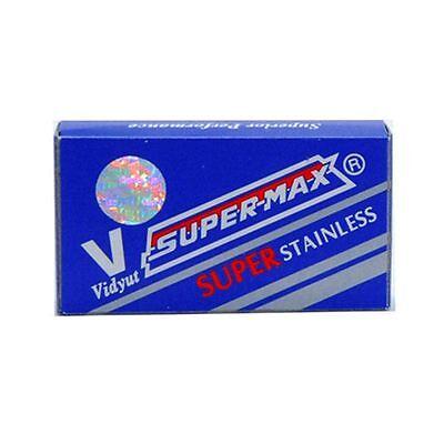 SuperMax Super Stainless | Double Edge Razor Blades |  Premium Safety