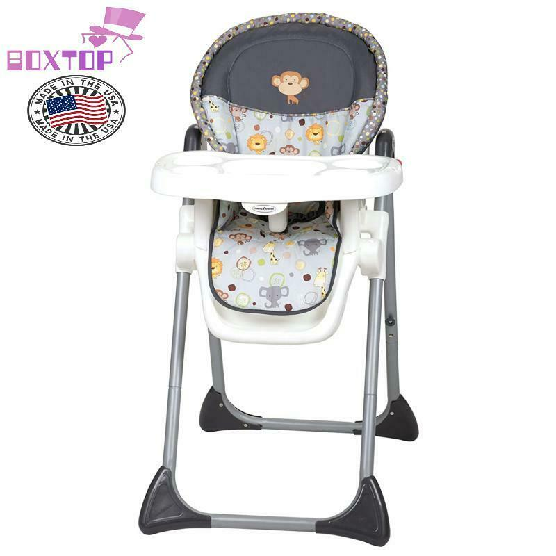 Premium Baby Trend Sit Right High Chair, Bobble Heads, Safet