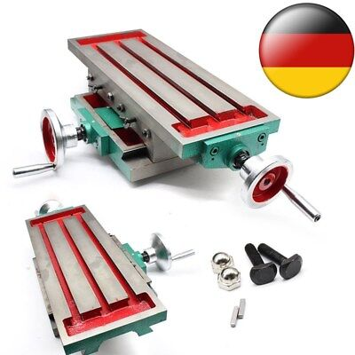 Mini Prazision Milling Maschine Worktable Multifunction for Bench Drill Vise DHL