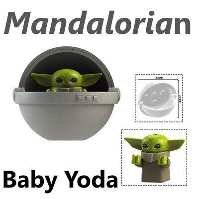 Star Wars Baby Yoda Mandalorian Custom Mini Block Figure Toys For Lego Moc