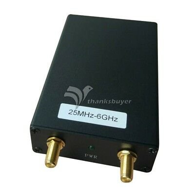 25m-6g 5k Spectrum Analyzer Signal Source Generator Tracking Generator