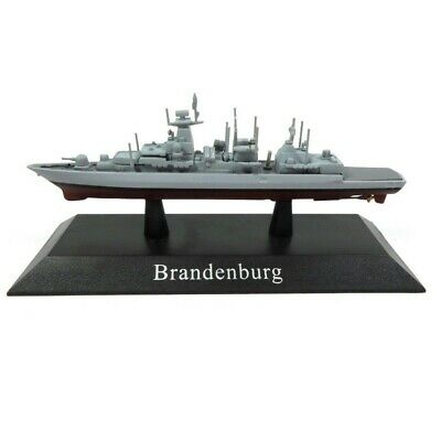 Brandenburg Barco de Guerra 1:1250 Acorazado Diecast Agostini *65