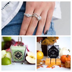 ICE N FIRE CANDLES AND BODY CARE WITH TREASURES INSIDE