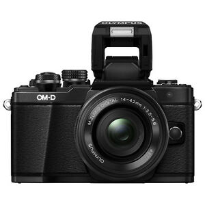 Olympus E-M10 Mark 2 Mirrorless Camera with 14-42mm lens kit