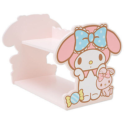 New Japan Sanrio My Melody Wood Shelf Home Bedroom Decor Storage Pink