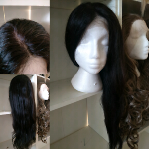 """NEW  BRAZILIAN HUMAN 24"""""""" #1B 100% HUMAN HAIR CUTICLE LACE FRONT New Farm Brisbane North East Preview"""
