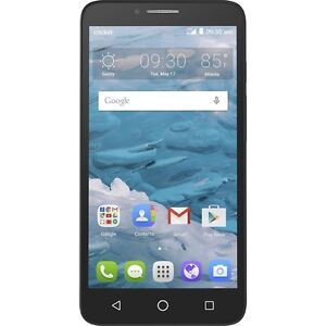 """Cellphone Alcatel 16GB 5.5"""" HD Unlocked 4G LTE Android NEW"""