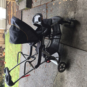 Sit and stand stroller in perfect condition!
