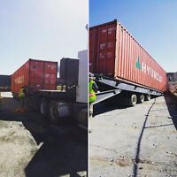SHIPPING STORAGE CONTAINERS