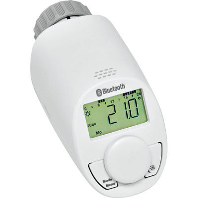 Eqiva Bluetooth Smart Elektronik-Heizkörperthermostat, mit