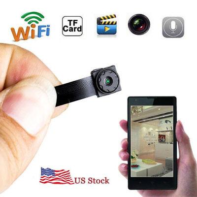 (NEW Wireless Mini IP WIFI Spy Hidden Pinhole HD Camera DIY Built-in Battery DVR)