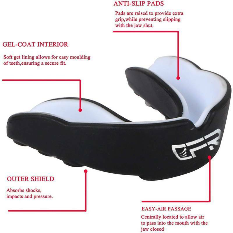 CFR Gel Mouth Guard Grinding MMA MouthPiece