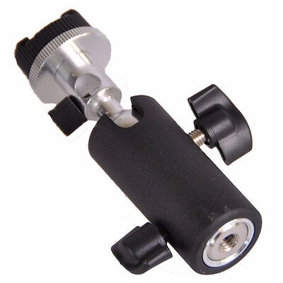 Photo Studio Flash Bracket Shoe Adapter Holder Speedlite Stand Umbrella Mount