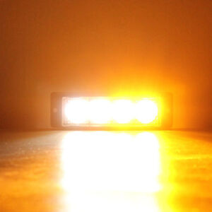 LED warning emergency strobe light for tow truck, construction Cornwall Ontario image 2