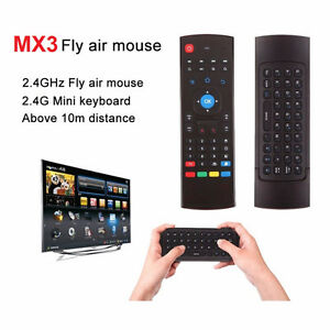 MX3 Fly Air MouseKeyboard/Remote For Smart TVs