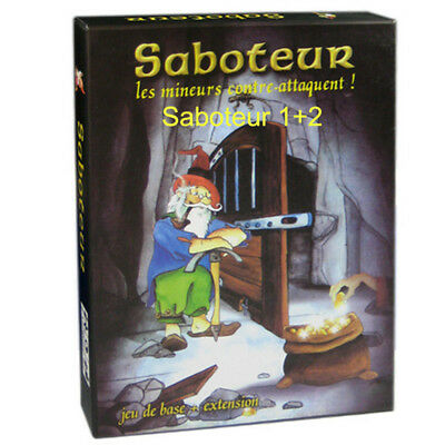 Cephalofair Games  Gloomhaven Board Game Saboteur 1 2 Version Funny Board Game