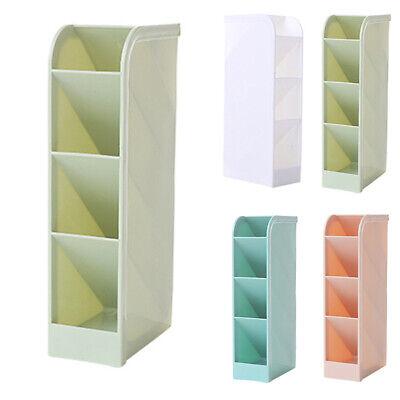 Desk Pens Tabletop Storage Box Pencil Shelf Organizer Home Office Holder