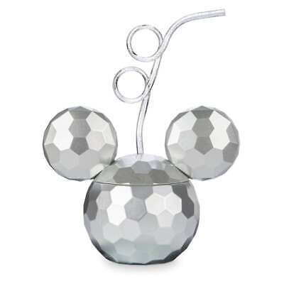 Disney Parks Mickey Mouse Disco Ball Tumbler with Straw New - Mickey Mouse Straws