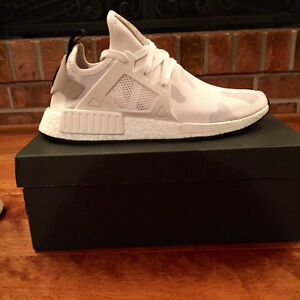 "NEW Adidas XR1 NMD ""Duck Camo"" White - Size 10"