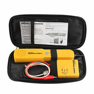 Telephone Line Network Finder Detector Cable Tester Tracker Rj-1145 Wire Tracer