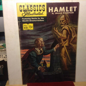 Classics Illustrated No. 99 Hamlet By William Shakespeare Septem
