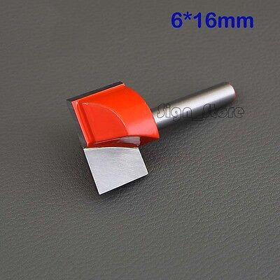 2pcs 14 Cnc Router Cleaning Bottom Wood Carving Tools Bits 6mm X16mm