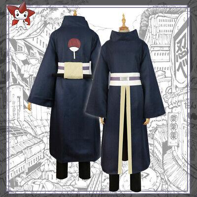 Anime Hokage NARUTO0 Uchiha Sasuke Kimono Passen Umhang Cosplay Kostüm Outfits