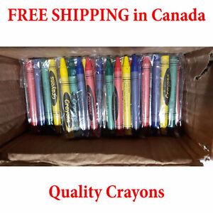 BULK 100 - 4 Packs of individually wrapped Crayons FREE SHIPPING Sarnia Sarnia Area image 2