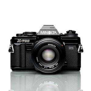 Minolta X-700 35mm Film Camera | MD 50mm F2 | *Minty*