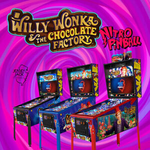 WILLY WONKA Pinball @ NITRO! Order Now!