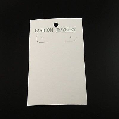 35112 White Jewelry Case Necklace Display Hanging Card Hot Sale 200pcs 9060mm