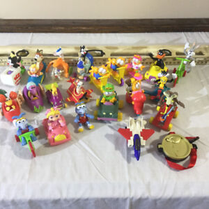 McDonalds toys from mid 1980s to early 1990s