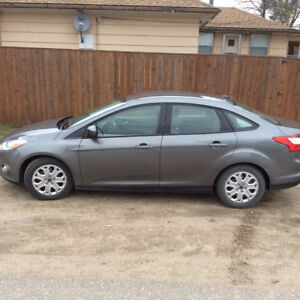 2012 Ford Focus Sterling Grey SE