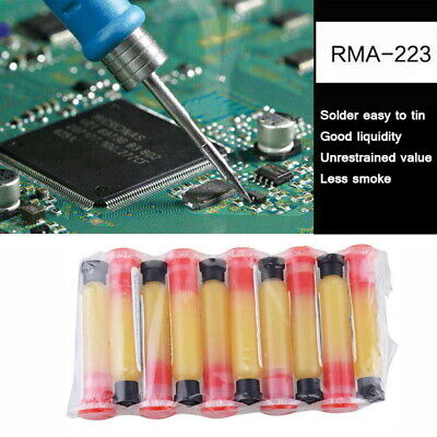 2pcs Soldering Paste Flux Grease Rma-223 10cc Syringe Pcb Bga Smd Non-cleaning