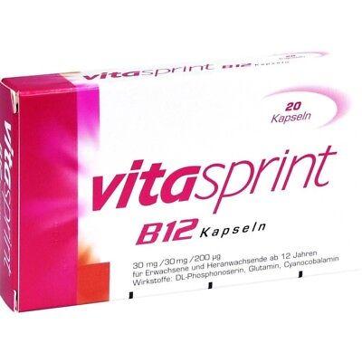 Vitasprint B12 Kapseln   20 st   PZN 4909523 ()